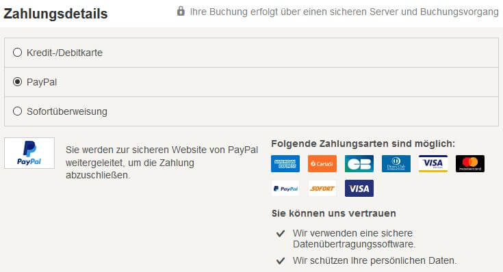Hotel Buchen Ohne Kreditkarte Gunstig Zahlen Per Laschrift Paypal